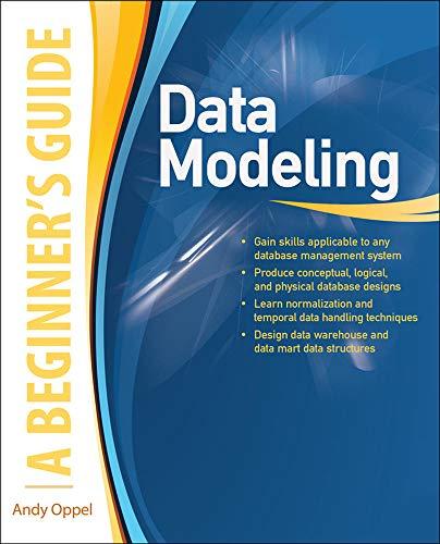 9780071623988: Data Modeling: A Beginner's Guide