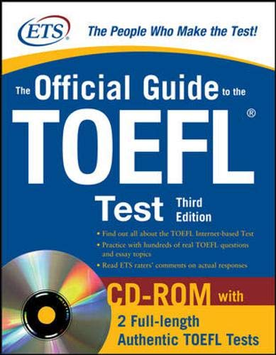 9780071624053: The Official Guide to the TOEFL iBT with CD-ROM, Third Edition (McGraw-Hill's Official Guide to the TOEFL Ibt (W/CD))