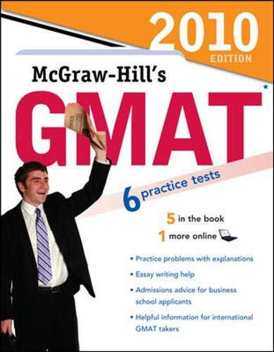 9780071624121: McGraw-Hill's GMAT, 2010 Edition (Mcgraw Hill's Gmat (Book Only))