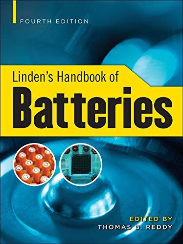 9780071624213: Linden's Handbook of Batteries, 4th Edition (Electronics)