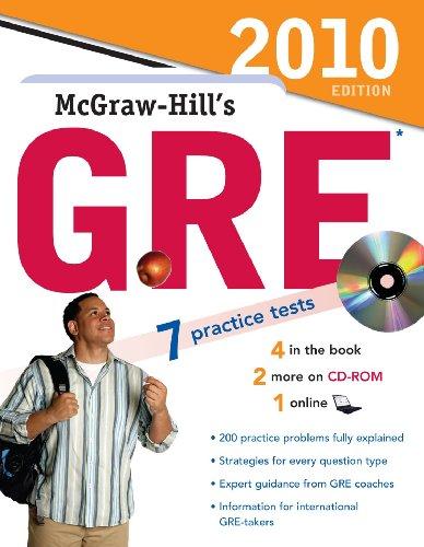 9780071624305: McGraw-Hill's GRE. Con CD-ROM