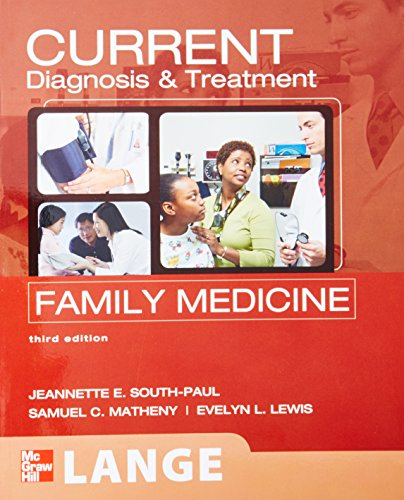 9780071624367: CURRENT Diagnosis & Treatment in Family Medicine, Third Edition (Lange Current Series)