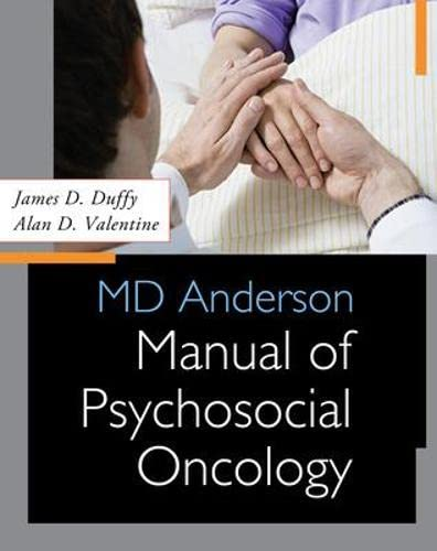 9780071624381: MD Anderson Manual of Psychosocial Oncology