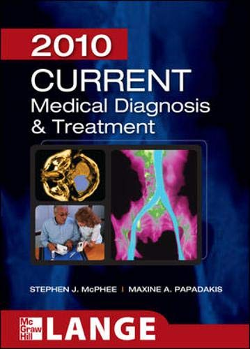 9780071624442: CURRENT Medical Diagnosis and Treatment 2010, Forty-Ninth Edition (LANGE CURRENT Series)