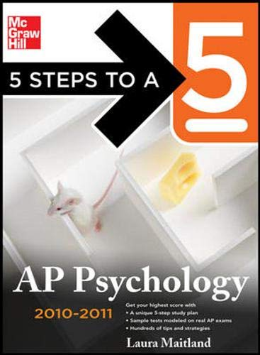 9780071624541: 5 Steps to a 5 AP Psychology, 2010-2011 Edition (5 Steps to a 5 on the Advanced Placement Examinations Series)