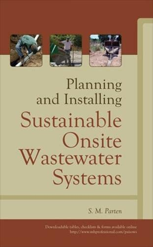9780071624633: Planning and Installing Sustainable Onsite Wastewater Systems (P/L Custom Scoring Survey)