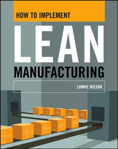 9780071625074: How To Implement Lean Manufacturing
