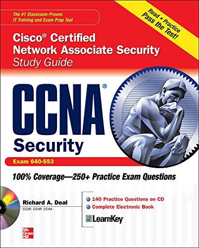 9780071625197: CCNA Cisco Certified Network Associate Security Study Guide with CDROM (Exam 640-553) (Certification Press)