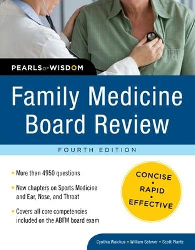 9780071625517: Family Medicine Board Review: Pearls of Wisdom, Fourth Edition