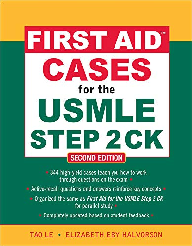 9780071625708: First aid cases for the USMLE step 2 CK (Medicina)