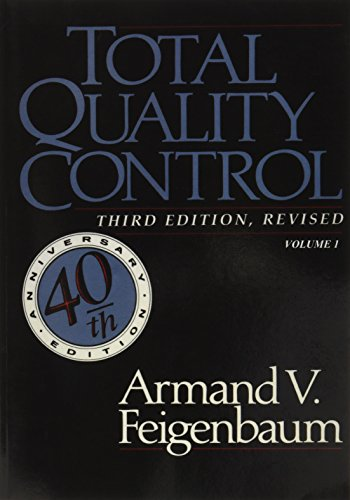 9780071626286: Total Quality Control, Revised (Fortieth Anniversary Edition), Volume 1