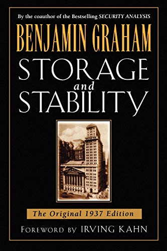 9780071626316: Storage and Stability: The Original 1937 Edition