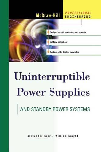 9780071626415: Uninterruptible Power Supplies