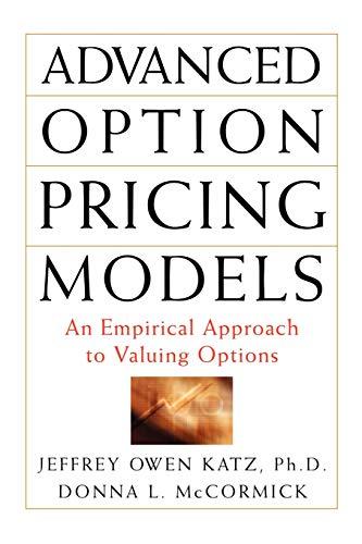 9780071626446: Advanced Option Pricing Models