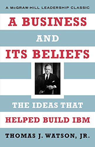 9780071626453: A Business and Its Beliefs