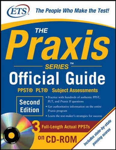 9780071626606: The Praxis Series Official Guide with CD-ROM, Second Edition
