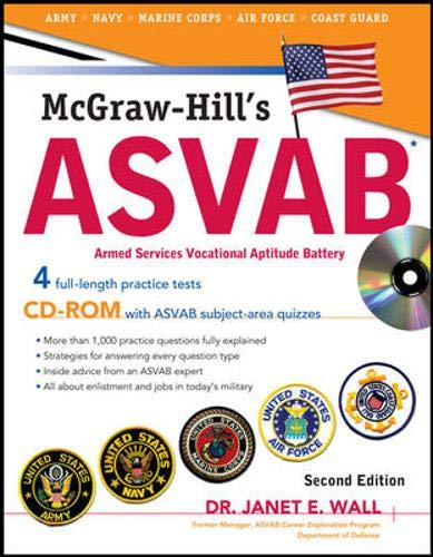 9780071626651: McGraw-Hill's ASVAB with CD-ROM, Second Edition (McGraw-Hill's ASVAB (W/CD))