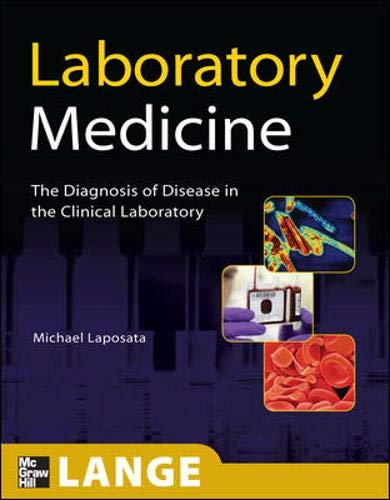 9780071626743: Laboratory  Medicine: The Diagnosis of Disease in the Clinical Laboratory (Lange Basic Science)