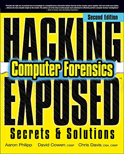 9780071626774: Hacking exposed computer forensics. Secrets & solutions (Informatica)