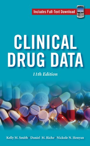 9780071626880: Clinical Drug Data, 11th Edition