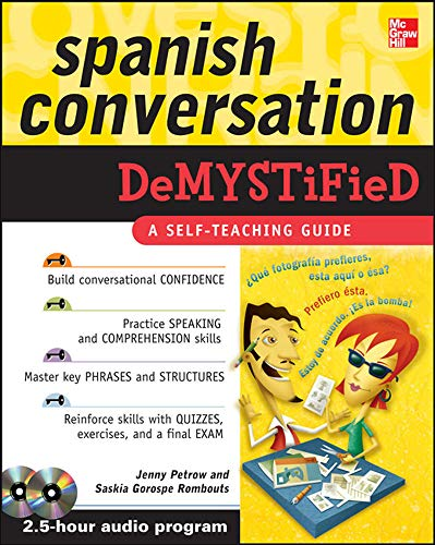 9780071627078: Spanish Conversation Demystified with Two Audio CDs
