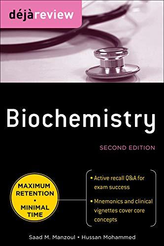 9780071627177: Deja Review Biochemistry, Second Edition