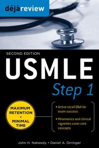 Deja Review USMLE Step 1, Second Edition (Paperback): John H. Naheedy, Daniel Orringer