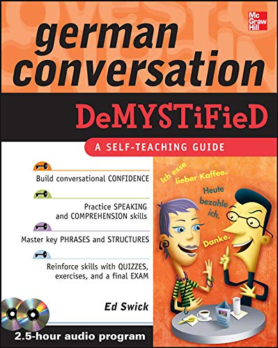9780071627221: German Conversation Demystified with Two Audio CDs
