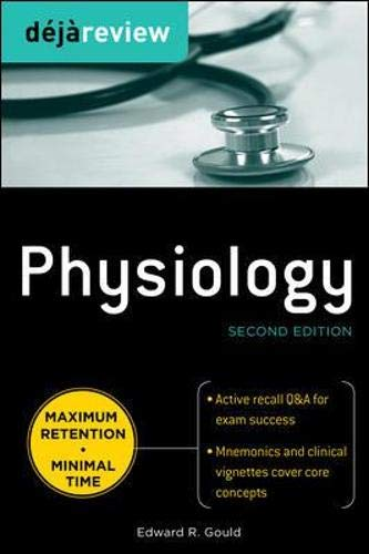 9780071627252: Deja Review Physiology, Second Edition