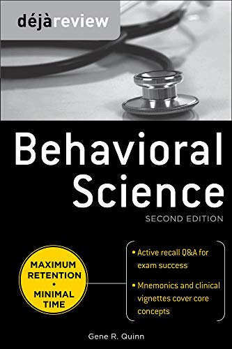 9780071627283: Deja Review Behavioral Science, Second Edition