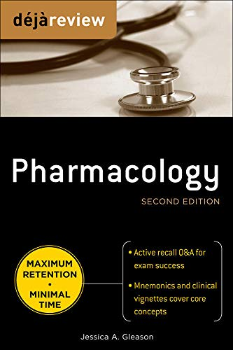 9780071627290: Deja Review Pharmacology, Second Edition