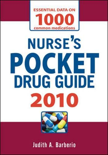 9780071627436: Nurse's Pocket Drug Guide 2010