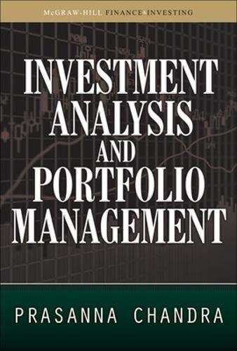 9780071627726: Investment Analysis and Portfolio Management