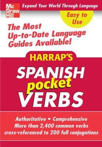 9780071627801: Harrap's Pocket Spanish Verbs (Harrap's Phrasebook Series)