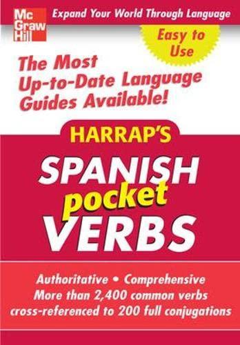 9780071627801: Harrap's Pocket Spanish Verbs (Harrap's Phrasebook Series)
