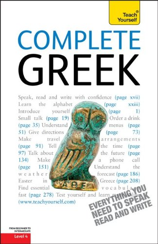 9780071627863: Complete Greek: A Teach Yourself Guide (TY: Complete Courses)