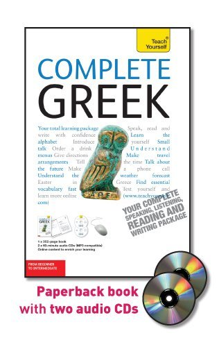 9780071627900: Teach Yourself Complete Greek: From Beginner to Intermediate [With Paperback Book] (Teach Yourself Language Complete Courses)
