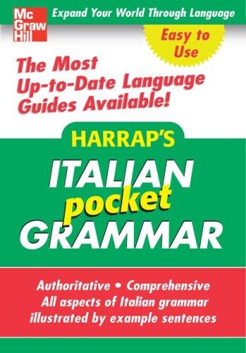 9780071627948: Harrap's Pocket Italian Grammar (Harrap's Language Guides)