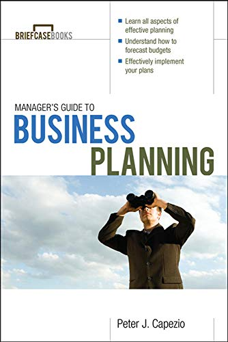 9780071628006: Manager's Guide to Business Planning (Briefcase Books)
