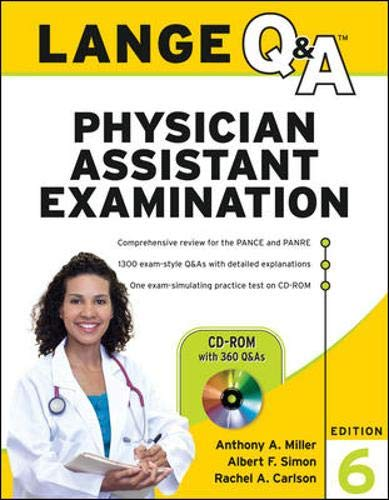 9780071628280: Lange Q&A Physician Assistant Examination, Sixth Edition