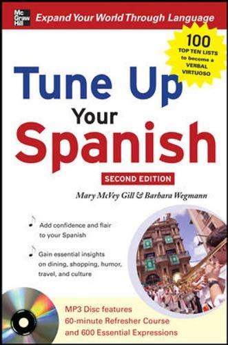 9780071628556: Tune Up Your Spanish with MP3 Disc