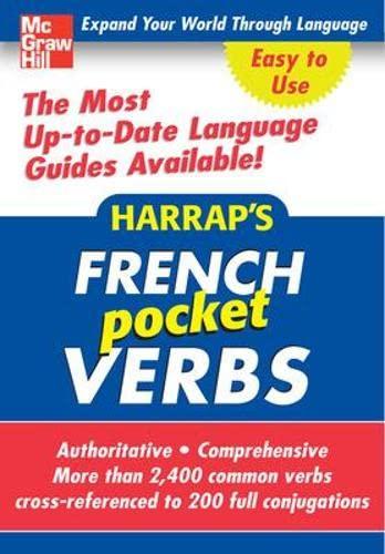 9780071629041: Harrap's Pocket French Verbs (Harrap's language Guides)