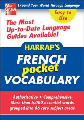 9780071629058: Harrap's Pocket French Vocabulary (Harrap's language Guides)