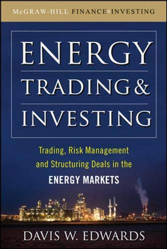 9780071629065: Energy Trading and Investing: Trading, Risk Management and Structuring Deals in the Energy Market