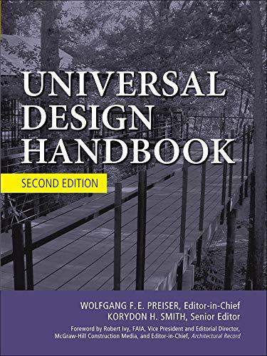 9780071629232: Universal Design Handbook, 2E (P/L Custom Scoring Survey)