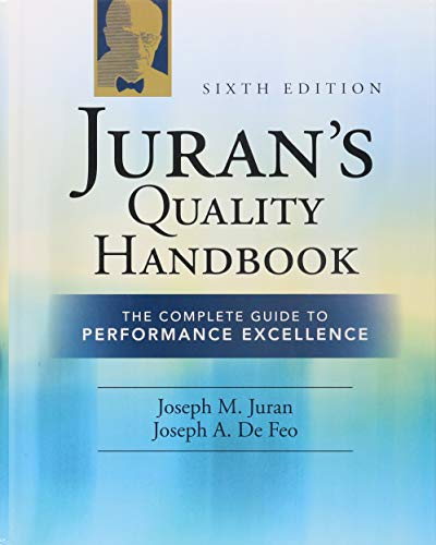 9780071629737: Juran's Quality Handbook: The Complete Guide to Performance Excellence 6/e
