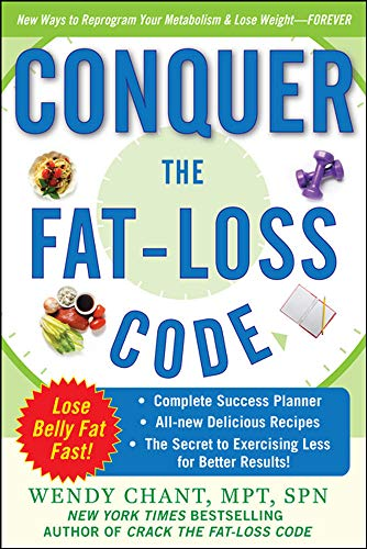 9780071630078: Conquer the Fat-Loss Code (Includes: Complete Success Planner, All-New Delicious Recipes, and the Secret to Exercising Less for Better Results!) (Dieting)