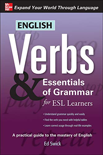 9780071632294: English Verbs & Essentials of Grammar for ESL Learners (Verbs and Essentials of Grammar Series)