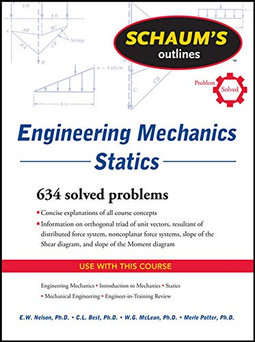 9780071632379: Schaum's Outline of Engineering Mechanics: Statics (Schaum's Outline Series)
