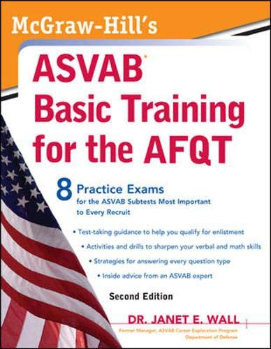 9780071632829: McGraw-Hill's ASVAB Basic Training for the AFQT, Second Edition (McGraw-Hill's ASVAB Basic Training for the Afqt (Armed Forces)